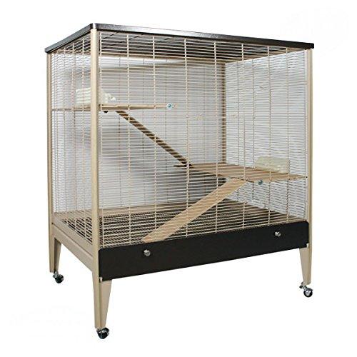 Montana Cages ® | Riesige Voliere für Nager in Holzoptik von Montana Käfig, Voliere