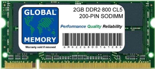 Memorycity - Memoria RAM DDR2 (2 GB, 800 MHz, PC2-6400, 200 Pines, SODIMM)