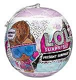 L.O.L. Surprise!- LOL Surprise Winter Chill 8 sorpresas Que Incluyen: muñeca Brillante, Ropa, Acceso...