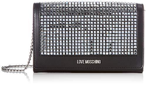 Love Moschino SS21, Bandolera para Mujer, Negro, Normal
