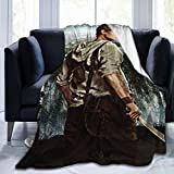 Thomas Brodie Sangster Flannel Fleece Throw Blanket 3D Printing Poster Blanket- Super Soft, Lightweight, Cozy and Decorative for Bed, Sofa and Couch 50'x40'
