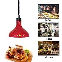 DAGCOT ピザ用食品ヒートランプ商業食品ウォーマーフードヒートランプ250Wビュッフェ電着ランプシェードテレスコピックペンダントランプ、複数の (Color : 3)