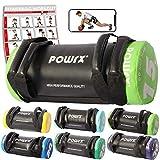 POWRX Power Bag I 5-30 kg I Kunstleder Fitness Bag für Functional Fitness