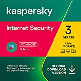 Kaspersky Internet Security 2021 Upgrade   3 Geräte   1 Jahr   Windows/Mac/Android   Aktivierungscode per Email