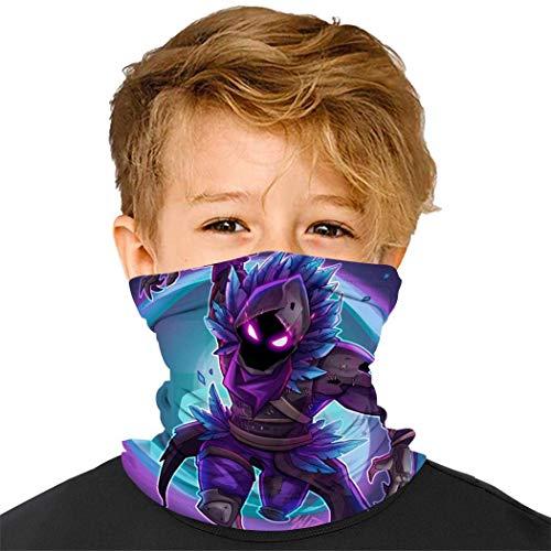 Na-rUto Kopfbedeckung für Kinder, Gesichtsmaske aus Stoff, Sturmhaube, Kopfband zum Schutz vor Staub