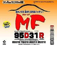 ブロード(BROAD)new MF 95D31R セミシールドMFバッテリー 国産車用