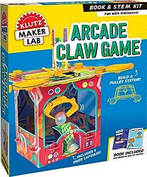 Arcade Claw Game  Maker Lab  Klutz STEM Kit  Brown/a 9.8  x 2.5  x 11.8