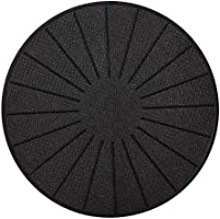 Lazy K Induction Cooktop Mat - Silicone Fiberglass Magnetic Cooktop Scratch Protector - for Induction Stove - Non slip...