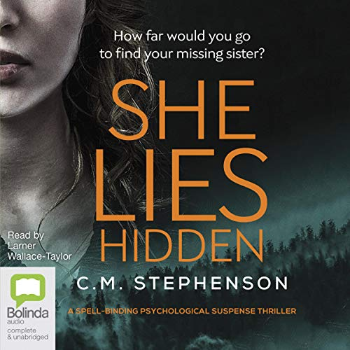 She Lies Hidden audiobook cover art