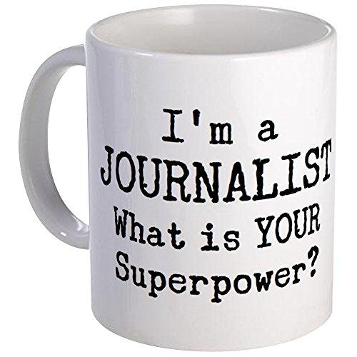 CafePress Journalist Mug Unique Coffee Mug, Coffee Cup