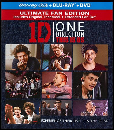 One Direction: This Is Us [Reino Unido] [Blu-ray]