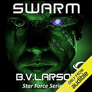 Swarm audiobook cover art