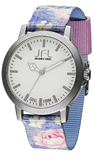 JFL by Jacques Farel Uhr Hipster-Style Flower CRS 017