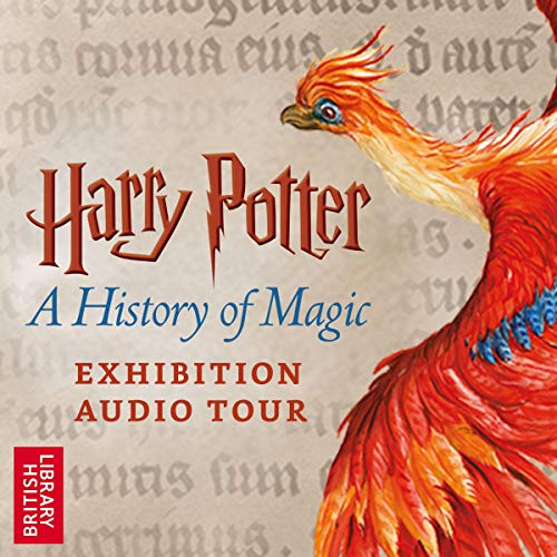 Harry Potter: A History of Magic audiobook cover art