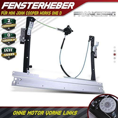 Frankberg Fensterheber Elektrisch Ohne Motor Vorne Links für JohnCooperWorks One D 2006-2016 51332756083