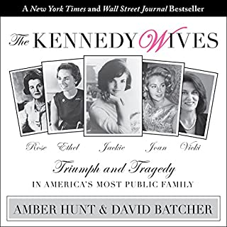 The Kennedy Wives audiobook cover art