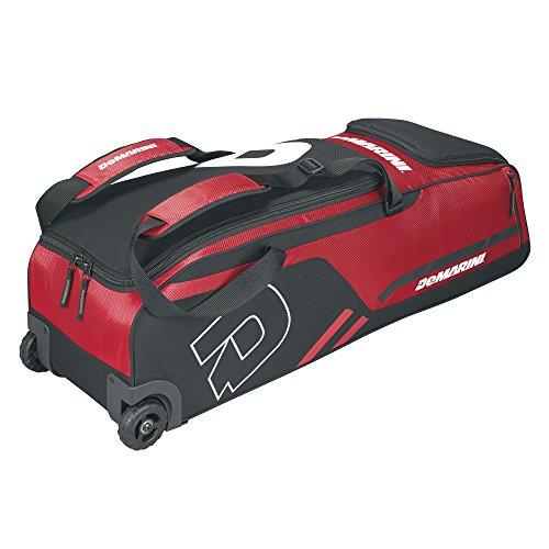 DeMarini Momentum Wheeled Bag, Scarlet