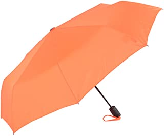 Pure Color Umbrella Anti-UV Cover Creative Small Fresh Vinyl Variety Optional HYBKY (Color : Orange)