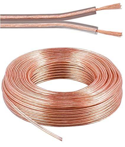 PremiumCord 100% CU Kabel Kupferkabel 2x1,5mm² 10m