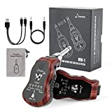 Donner Rechargeable UHF Wireless Guitar System MW-1, Digital Guitar Transmitter Receiver with Multifunction