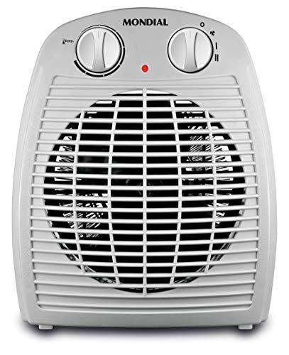 Mondial A08 Calefactor, 2000 W, Gris