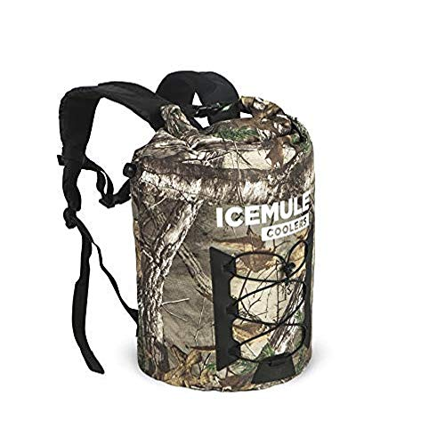 ICEMULE Pro Insulated Backpack Cooler Bag - Hands-free, Highly-Portable, Collapsible, Waterproof and Soft-Sided Cooler Backpack for Hiking, the Beach, Picnics, Camping, Fishing