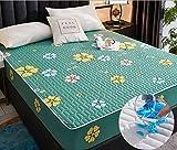 XLMHZP Funda de Cama Gruesa Lavable tamaño King Queen Funda de colchón Transpirable Protector de colchón Acolchado en...
