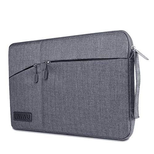 Case for Microsoft Surface Pro 7-12 Inch Pocket Laptop & Macbook Sleeve - Grey