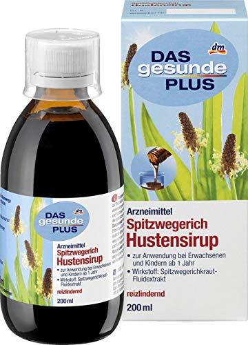 DAS gesunde PLUS Spitzwegerich Hustensirup, 1 x 200 ml Arzneimittel