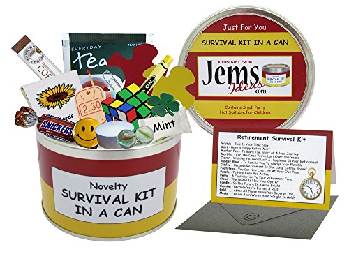 Survival Kit In A Can Geschenkdose