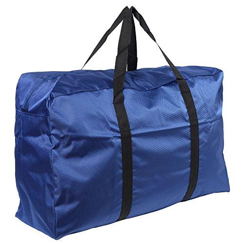 MAISON DE UN MAILLOT 折りたたみ トート バッグ 100L 収納 スポーツバッグ (ブルー)
