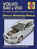 Volvo S40 & V50 Petrol & Diesel (Mar 04 -03) 04 to 13