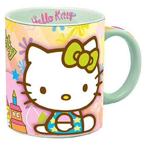 Taza, diseño de hello kitty