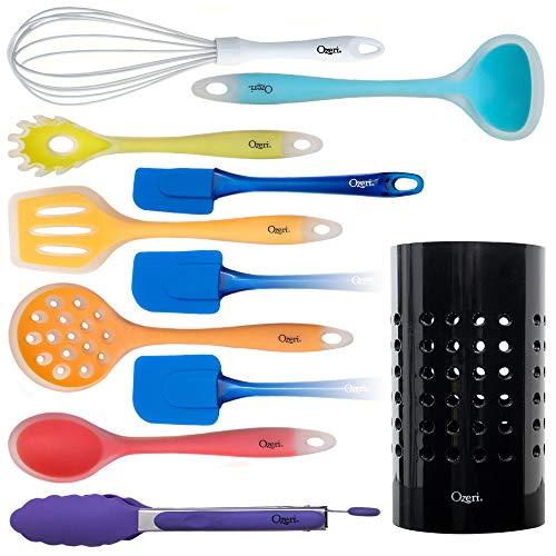 Juego de utensilios de cocina  de 11 piezas todo en uno, multicolor