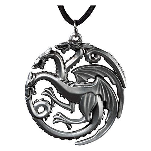 Noble Collection - Il Trono di Spade: Ciondolo Targaryen
