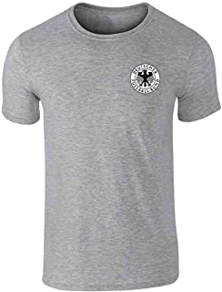 Germany Soccer Futbol Retro Vintage National Team Graphic Tee T-Shirt for Men