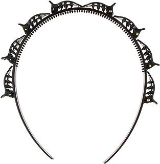 Parimahi Hair Styling Headband Hair Hoop Hair Band Accessories Hair Twister Hairstyle Braid Tool ( 1pc Black)