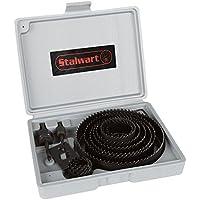 16-Piece Stalwart Hole Saw Set Kit