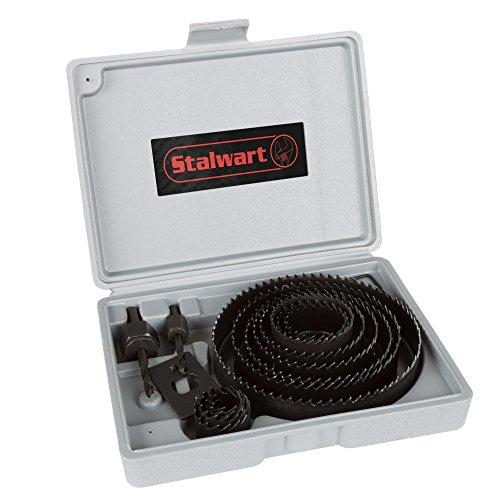 Stalwart Hole Saw Set 16 Piece Kit With 12 Saws Now $15.41