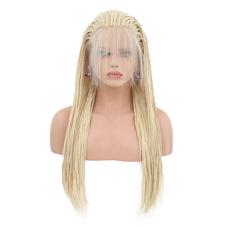 メタルライン適用する構想する女性フルレース人毛かつら150%密度合成remyで赤ん坊の毛髪ストレートブラジルのかつら内臓編組グルーレスかつら