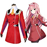 TONGJI Darling in The FRANXX Cosplay Anzug, Code Zero Two 002 Cosplay Suit, Anime Cosplay Kostüm...