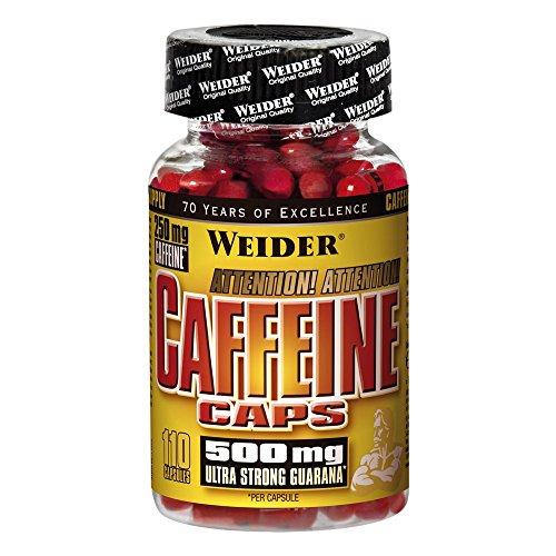 Weider Caffeine Caps 110 Kapseln