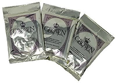 Crown Mulling Spices/Instant Gourmet Mulling Spice/Apple Cider, Wine, and Tea/Vegan and Gluten-Free/6 ounce/Perfectly Spices 1 Gallon of Your Favorite Beverage (3 Pack)