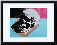 アートショップ フォームス アンディ・ウォーホル「スカル(ブルー&ピンク)Skull 1976」