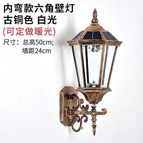 JJZHG Wandlamp, waterdicht, wandverlichting, buitenwandlamp, Villa tuin, retro, regen, buitenwandlamp, tuin, waterdichte lamp, bevat: wandlamp, stoere wandlampen