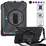 BRAECN Surface Go 2 Case, Heavy Duty Shockproof Case with