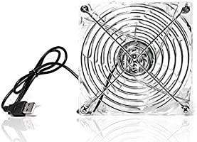120mm Fan 5V USB Cooling Fan for Electronic Equipment