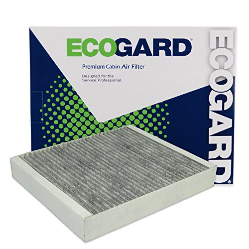 ECOGARD XC36154C Premium Cabin Air Filter with Activated Carbon Odor Eliminator Fits Chevrolet Cruze 2011-2016, Trax 2013-2021, Malibu 2013-2015, Sonic 2012-2019, Spark 2013-2021, Cruze Limited 2016