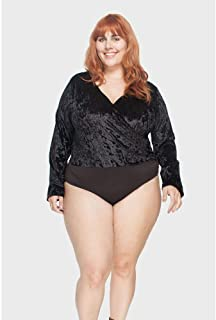 Body Veludo Plus Size