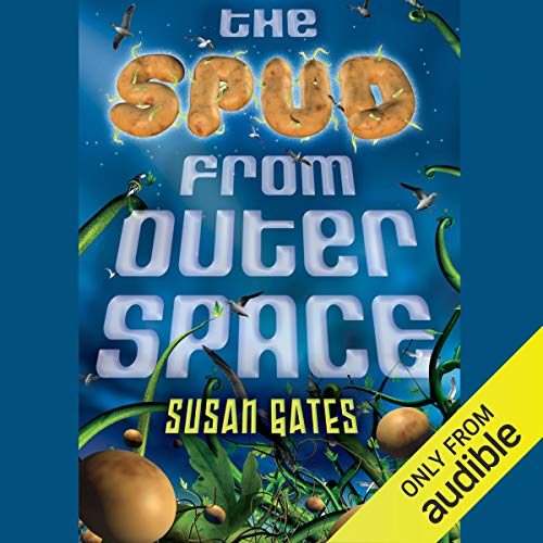 The Spud from Outer Space audiobook cover art